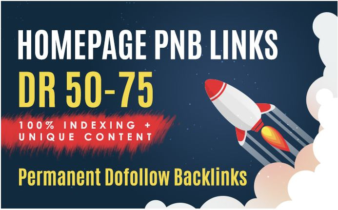 Build 10 Permanent DR 50To70 Homepage PBN Dofollow Backlink