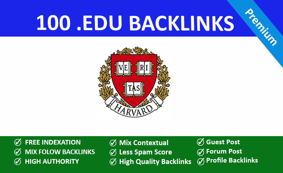 100 EDU Backlinks Manually Created From USA Universities