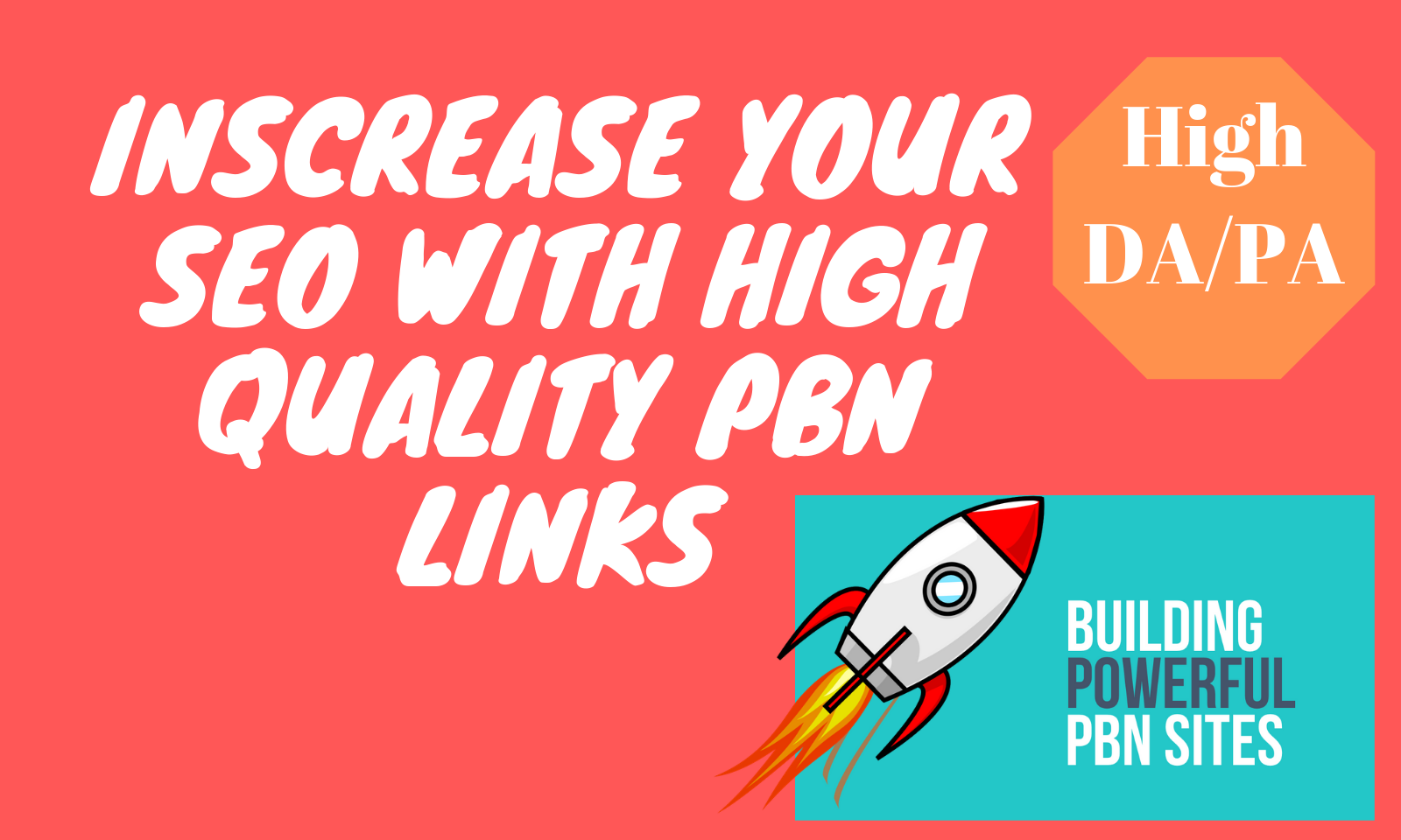 Get 30+ Homepage PBN Backlinks using High DA PA to get Fast Ranking