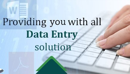 I complete any type of Data entry or Online work