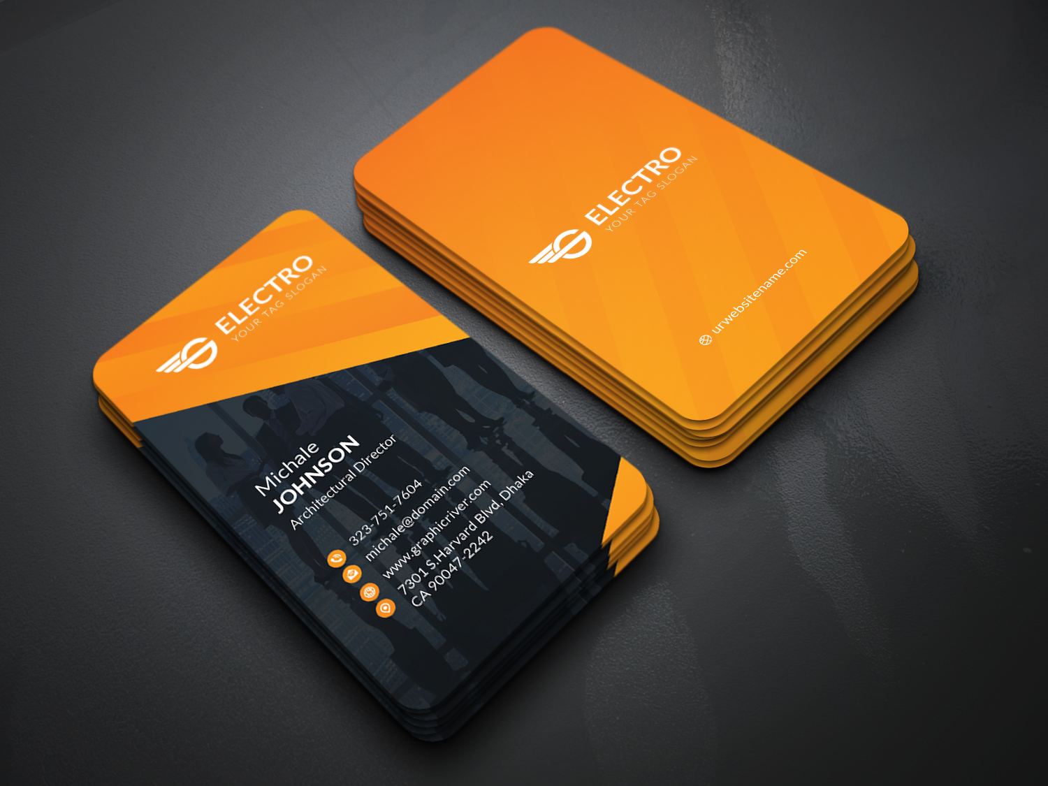 Design Professional and Modern Corporate Business Cards