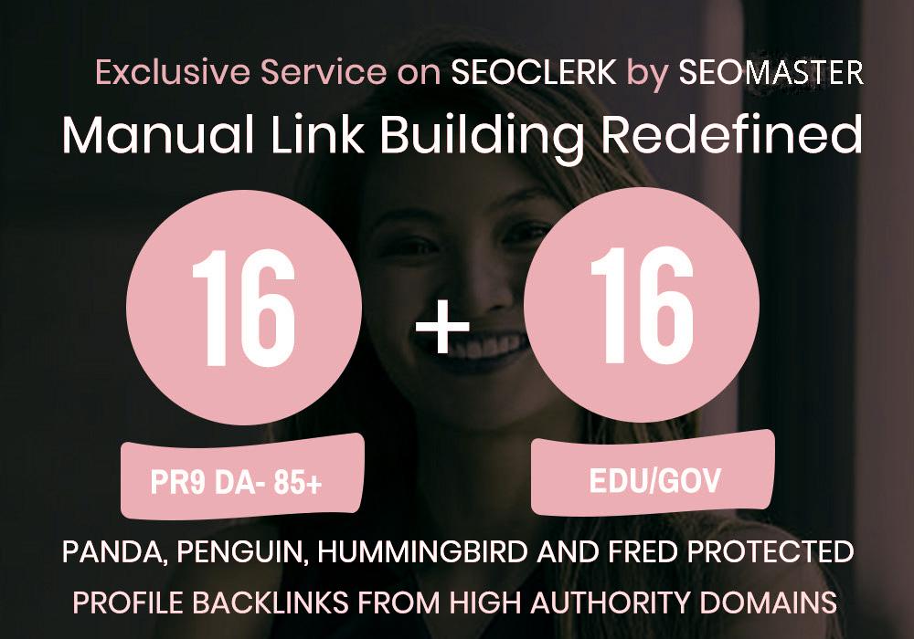 16 Pr9 + 16 Edu - Gov High Pr SEO Authority Backlinks Fire Your Google Ranking