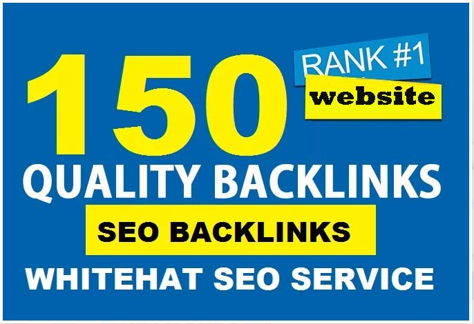 I Will Provide 150 High Authority Backlinks from DA PA-99-50 Domains-Skyrocket your Google Rankings