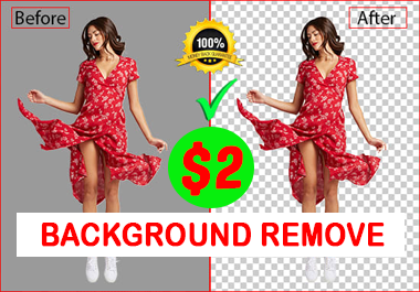 photoshop editing,  remove or change background professionally any 2 image