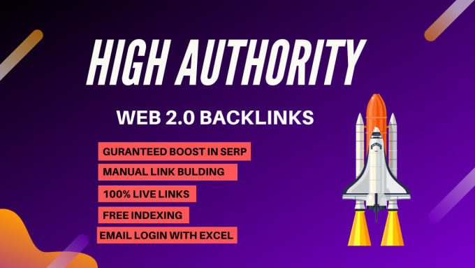 I will super authority web 2.0 dofollow backlinks