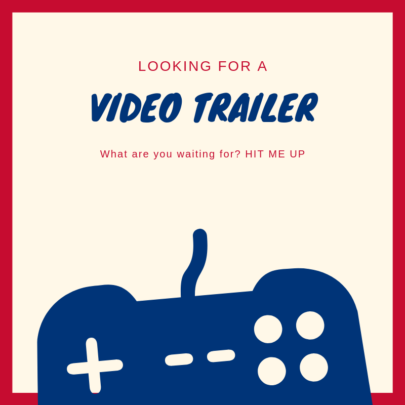 Creating an advertising video,  teaser,  game highlights or any type of videos you are looking for