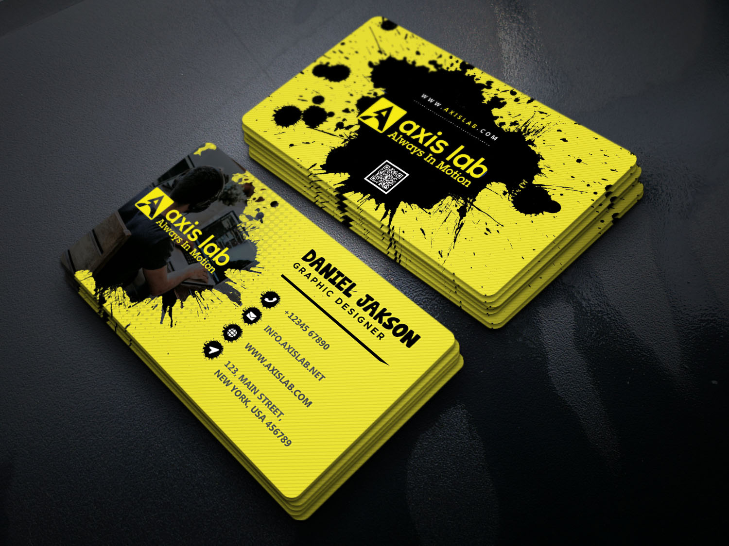 I will do unique business card design