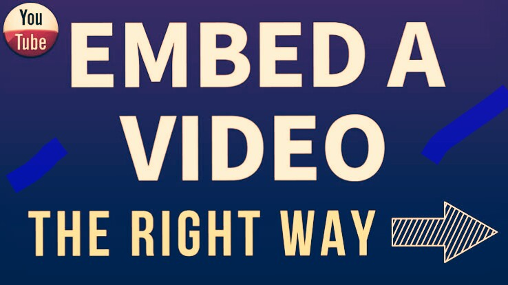 NIRban Embed your youtubes video to Rank Your video 2019