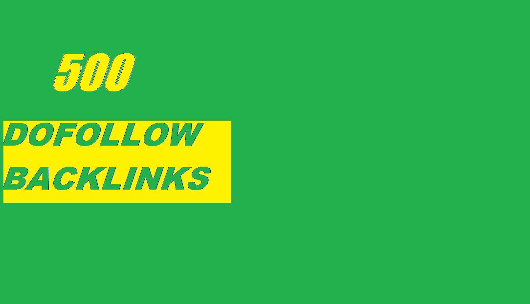 500 dofollow blogcomments on Monster Backlinks