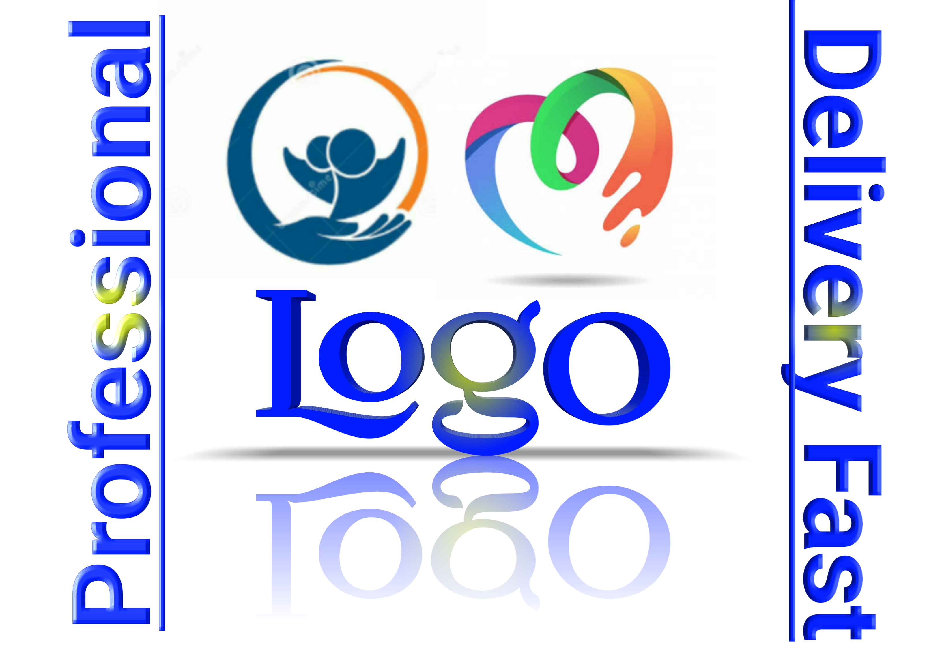 Design modern logo with unlimited revisions.