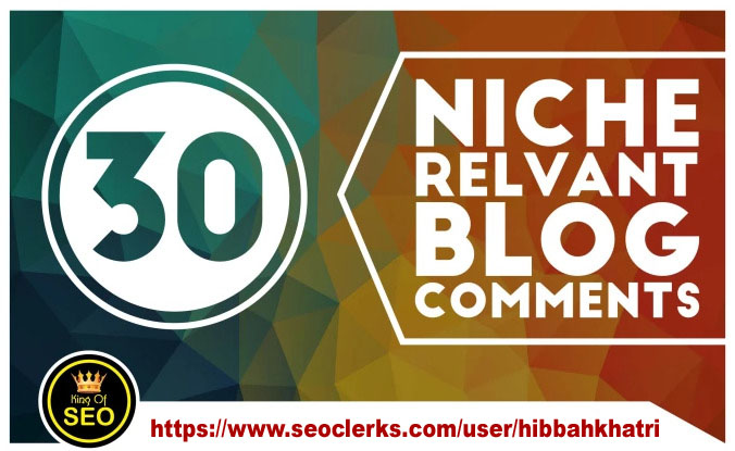 I will do 30 high quality niche relevant backlinks