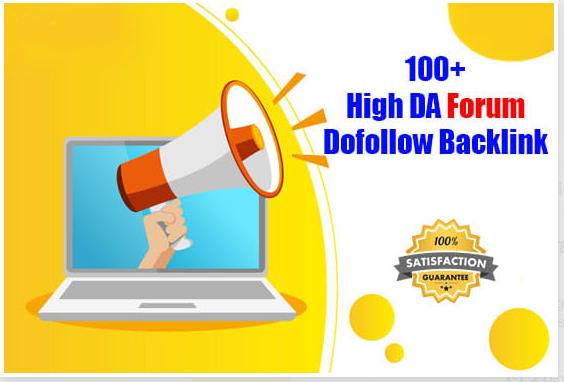 Manually 150 High Authority Dofollow Forum SEO Backlinks With Google Ranking