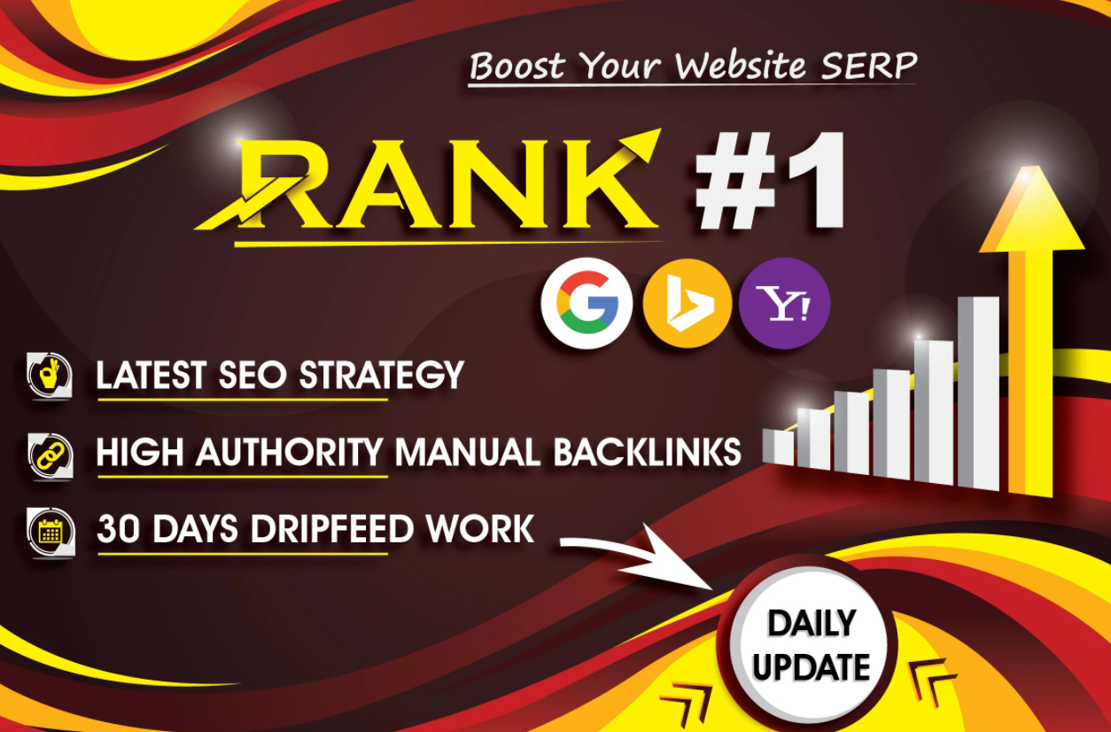 All in one SEO Package - First Page on Google - Backlinks Traffic Bookmark PBN Website keyword