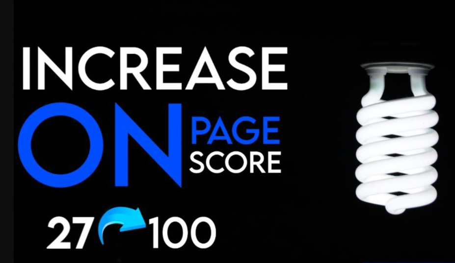 Increase Google Rank with page score Fastly ranking method