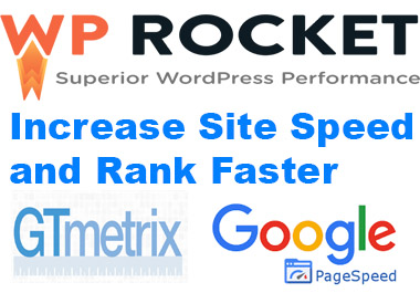 Reduce your website loading time by installing WP-Rocket