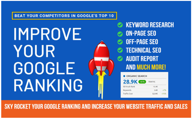 Do Complete Website SEO Service For Google Ranking