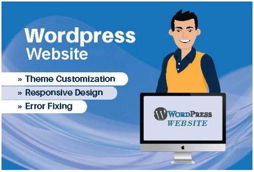 Design, redesign, fix and build a custom wordpress website