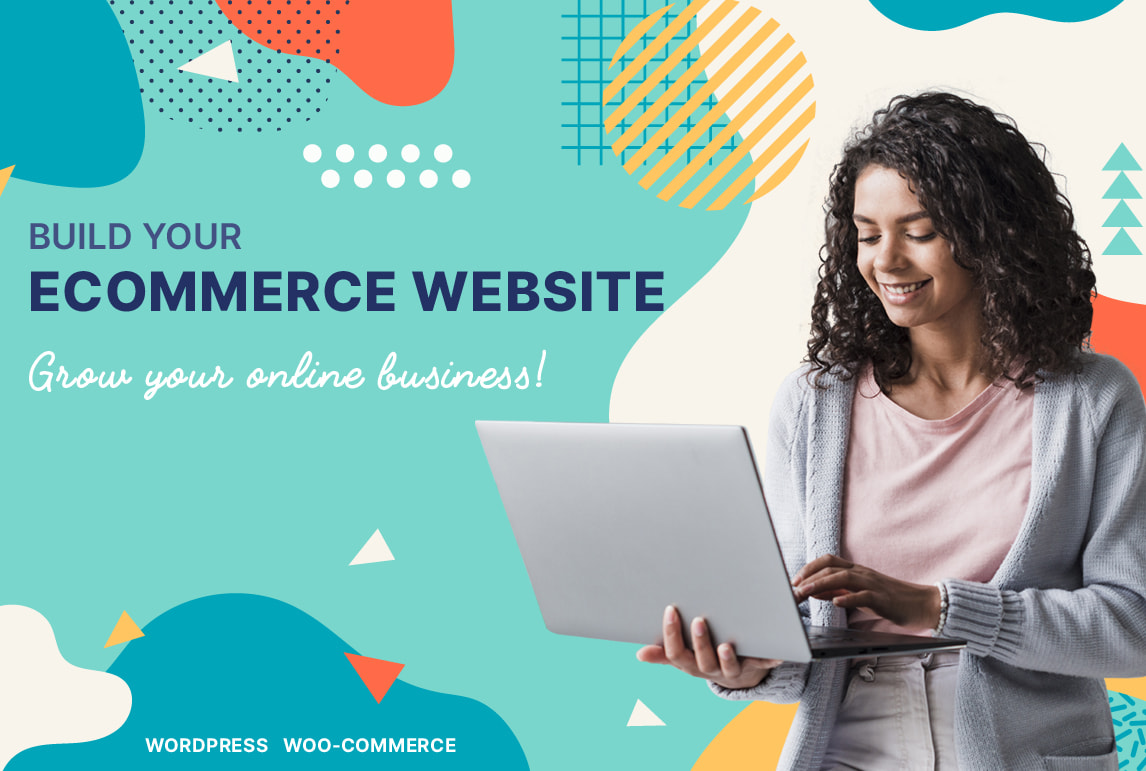 I will build ecommerce website store with wordpress woocommerce