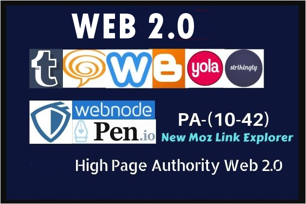 High authority 15 super web 2.0 blogs With Login Details
