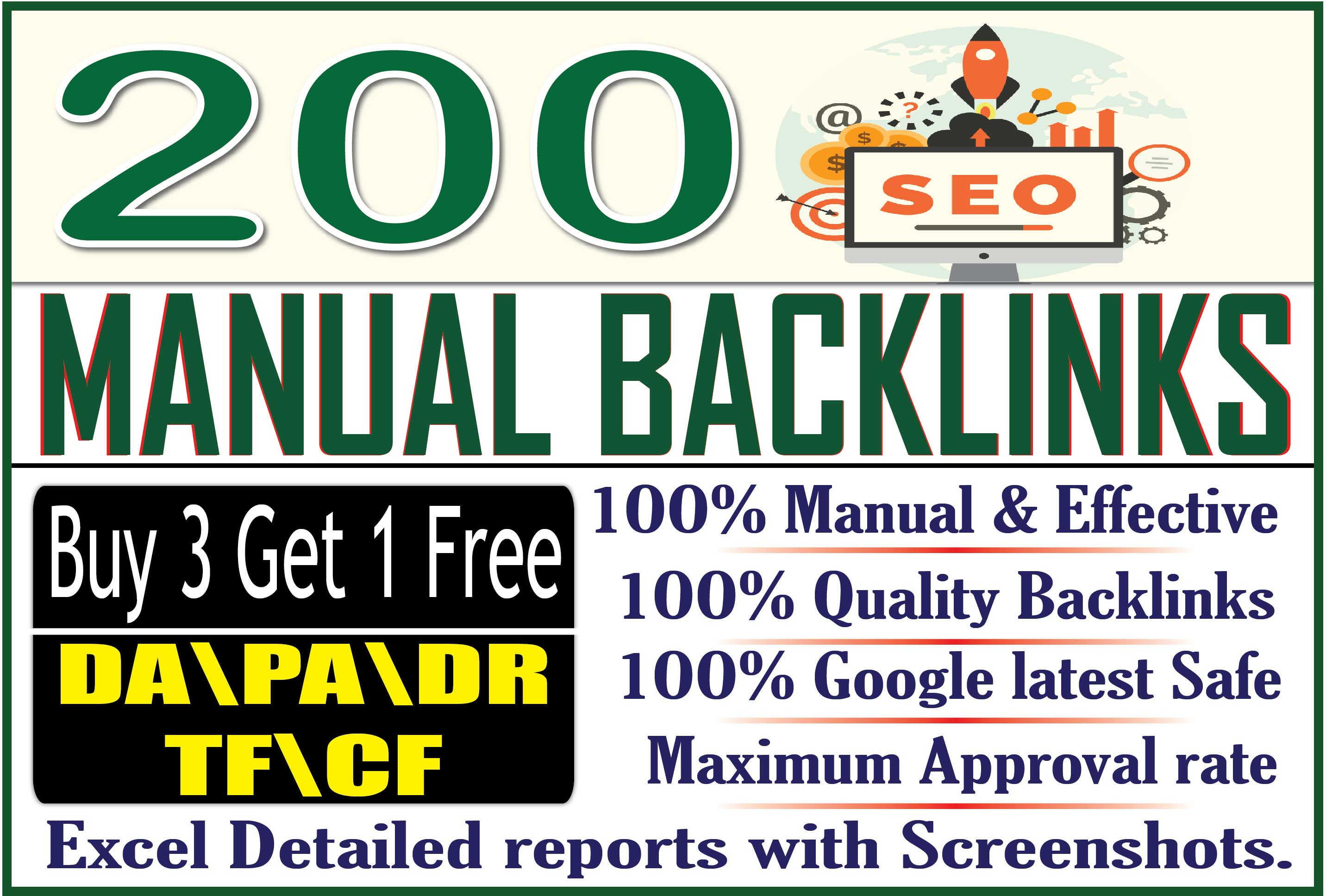 Get 200 Manual Niche Relevant Blog Comment to Improve Google Top Ranking