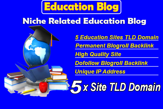 give link 5 site education tld blogroll permanent