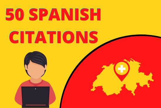 I will do 50 best spanish local citations