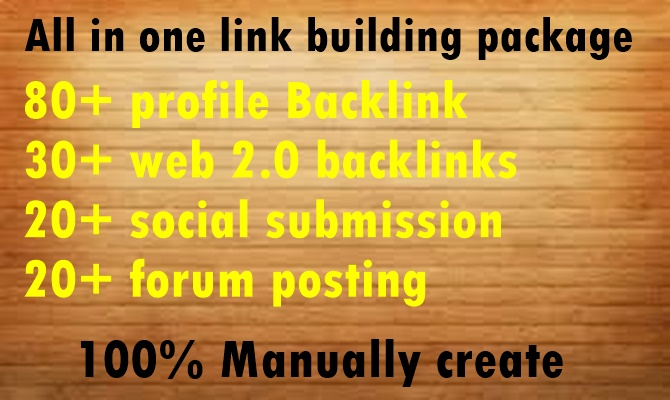 All in one Link Building package Boost your Website Very Fast-High DA PA Link Building package
