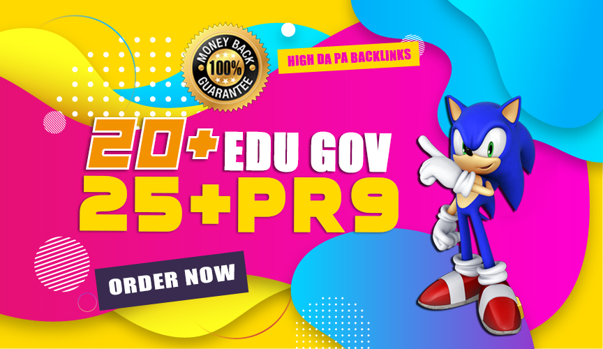 Boost your Rank With 60 Pr9 + 20 Edu - Gov SEO Backlinks