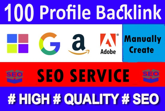 100+ high quality profile backlinks-High DA PA Backlinks-Top service in Monster Backlinks