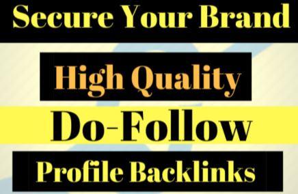 20+ PR9 Dofollow profile backlinks- All Dofollow profile Links
