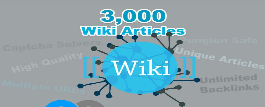 Unlimit contextual Wiki Backlinks from 3,000 Wiki Articles