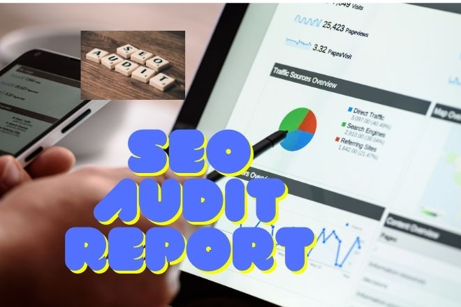 I will do seo audit your website and provide detailed SEO report