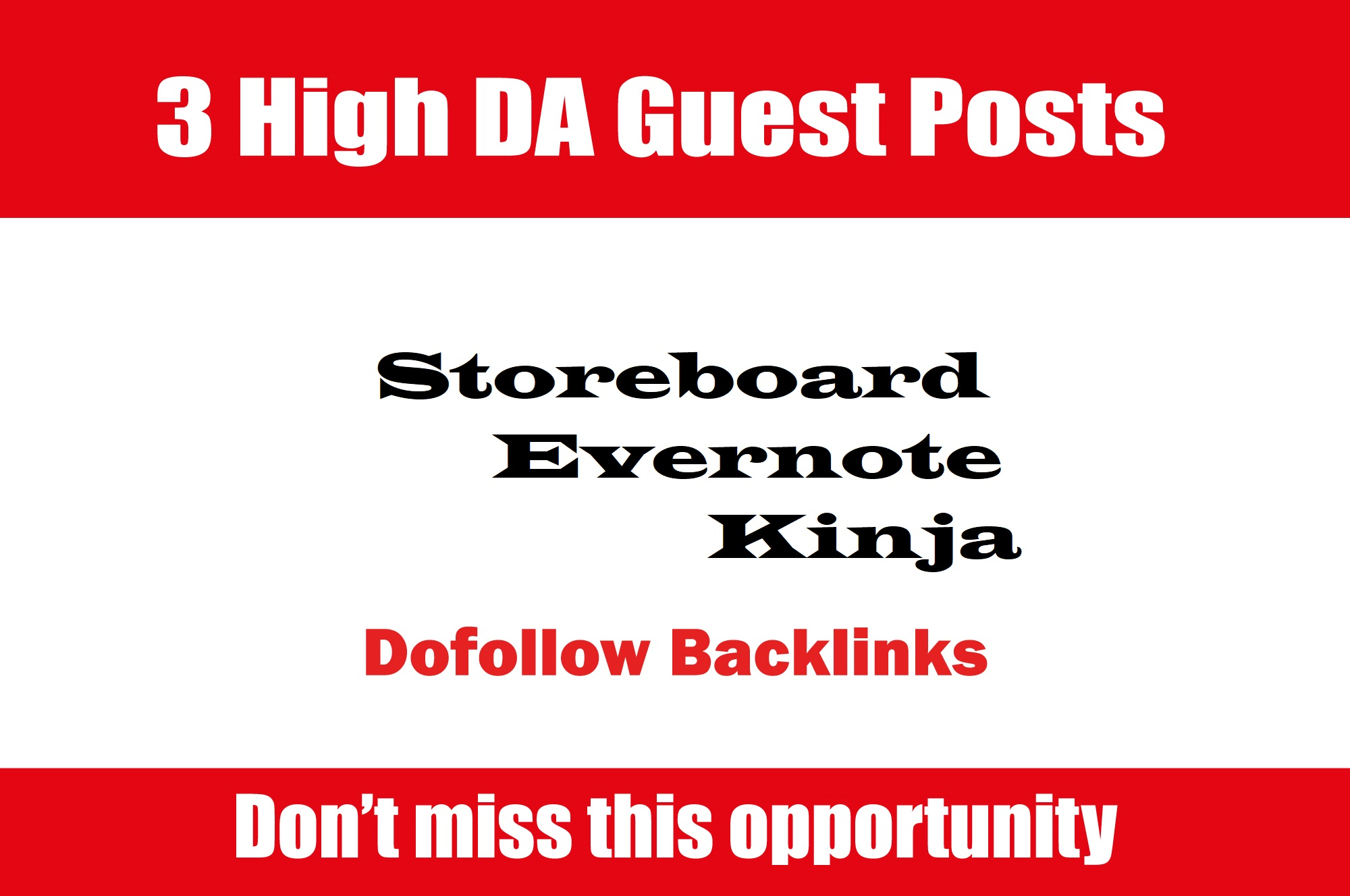 Publish Guest Post on Storeboard,  Kinja & Evernote DA90+