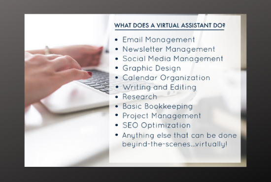 I Will Do Data Entry, Web Search, Typing As Virtual Assistant