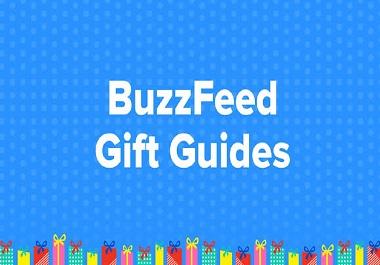 Write & Publish Guest Post on Buzzfeed - Buzzfeed. com DA93
