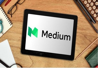 Write and publish a guest post on Medium- Medium. com DA-82