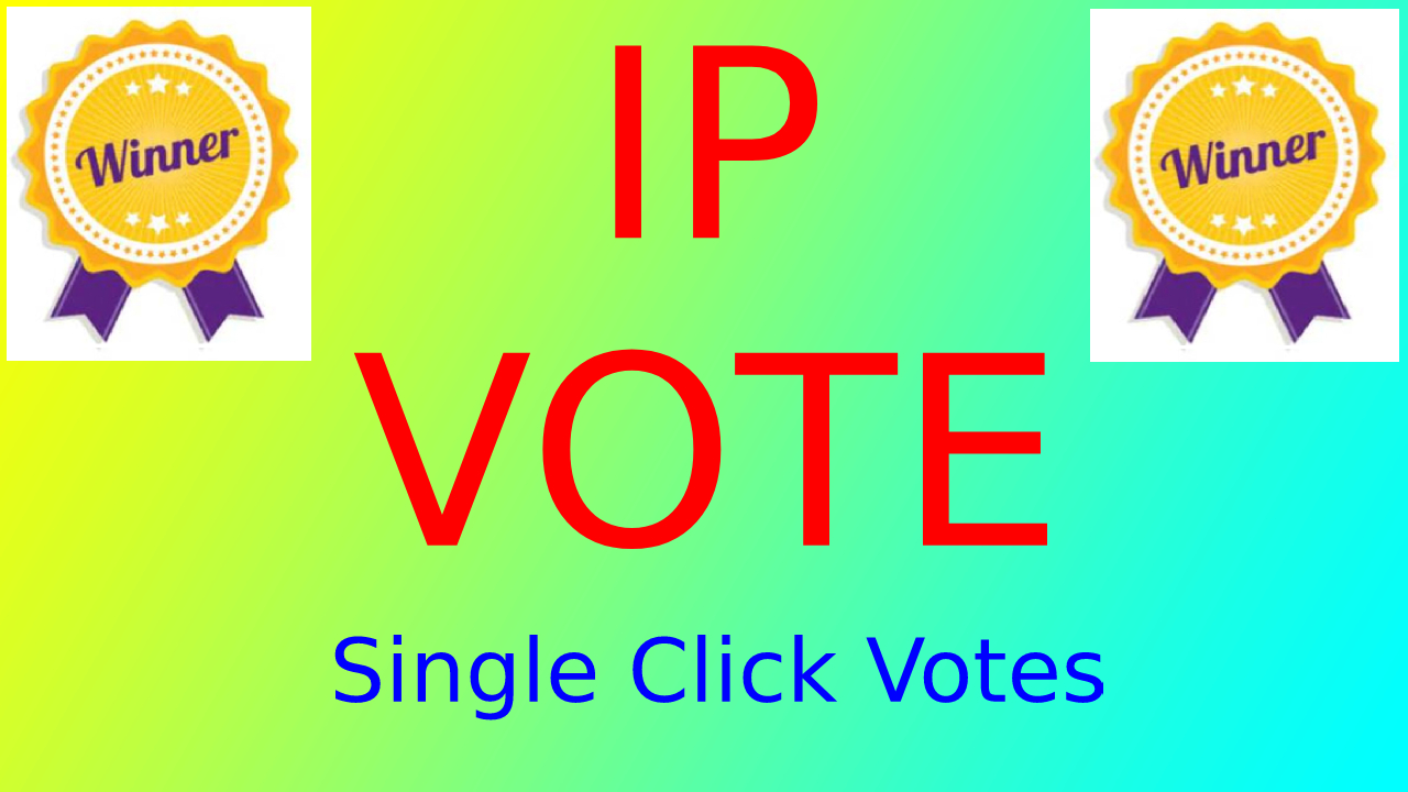 Super FAST 250 HQ Different IP Votes For Any Online Voting Contest