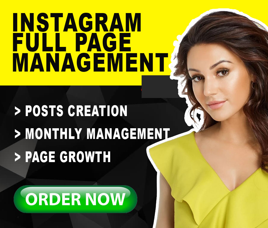 30 Days Instagram Full Page Management