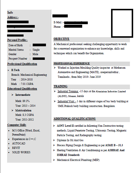 Resume specialist , for attractive resumes contact me