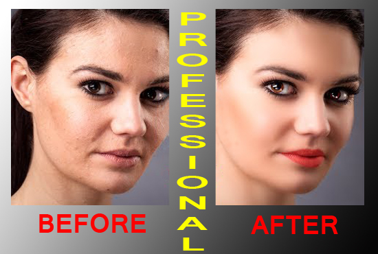 I will retouch your photo professionally in photoshop