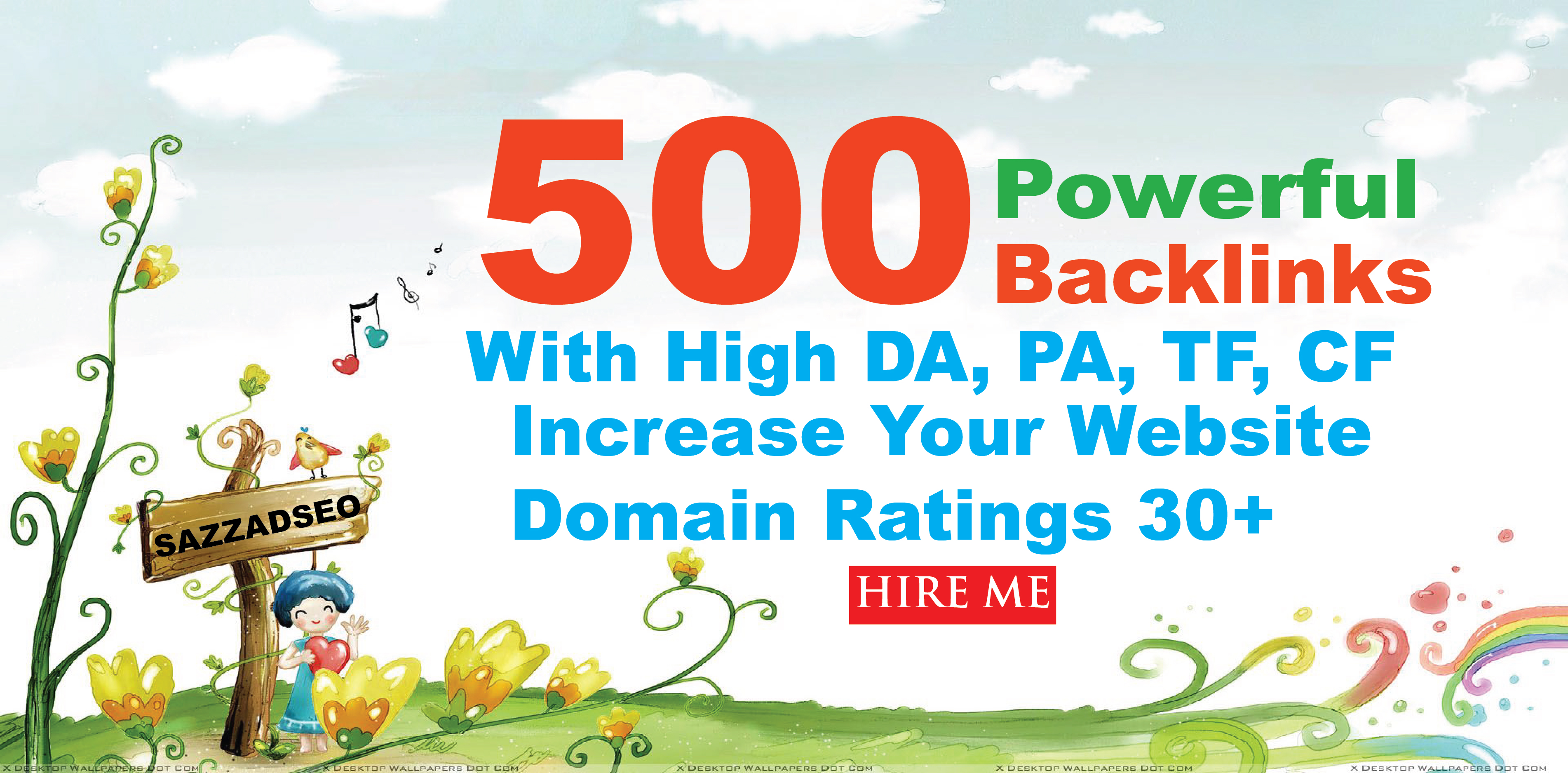 Create 500+ High PR9 Highly Authorized Google Dominating BACKLINKS Increase Domain Ratings