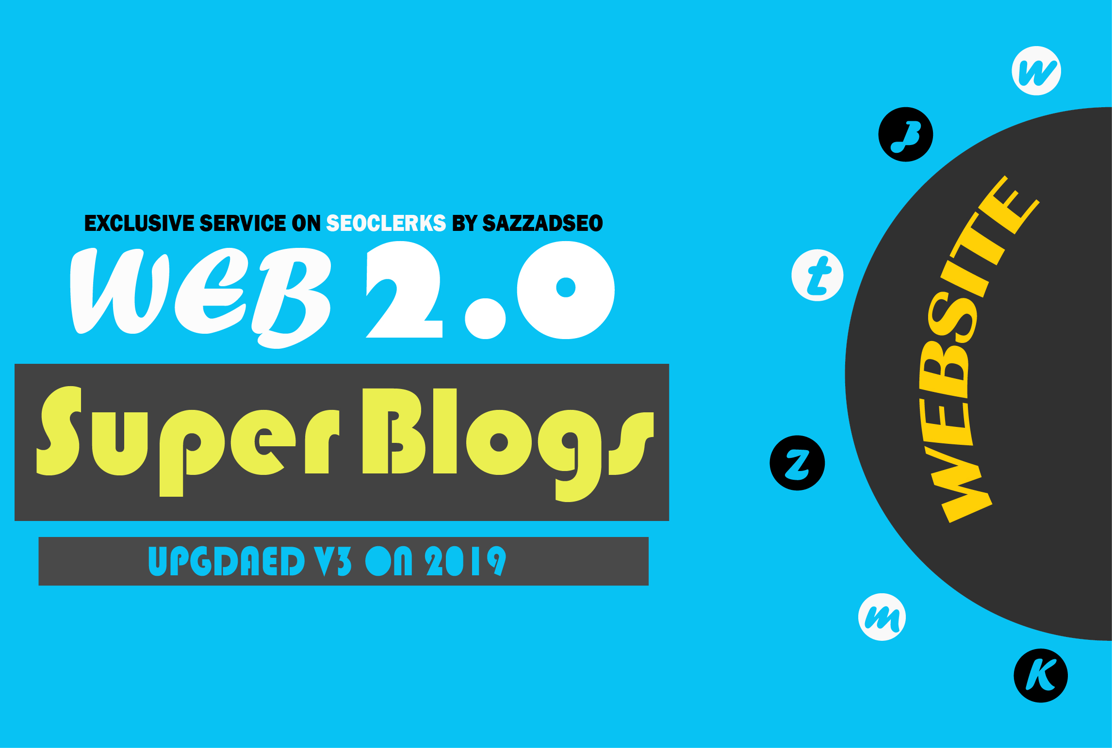 I will create 10 web 2.0 blogs with login