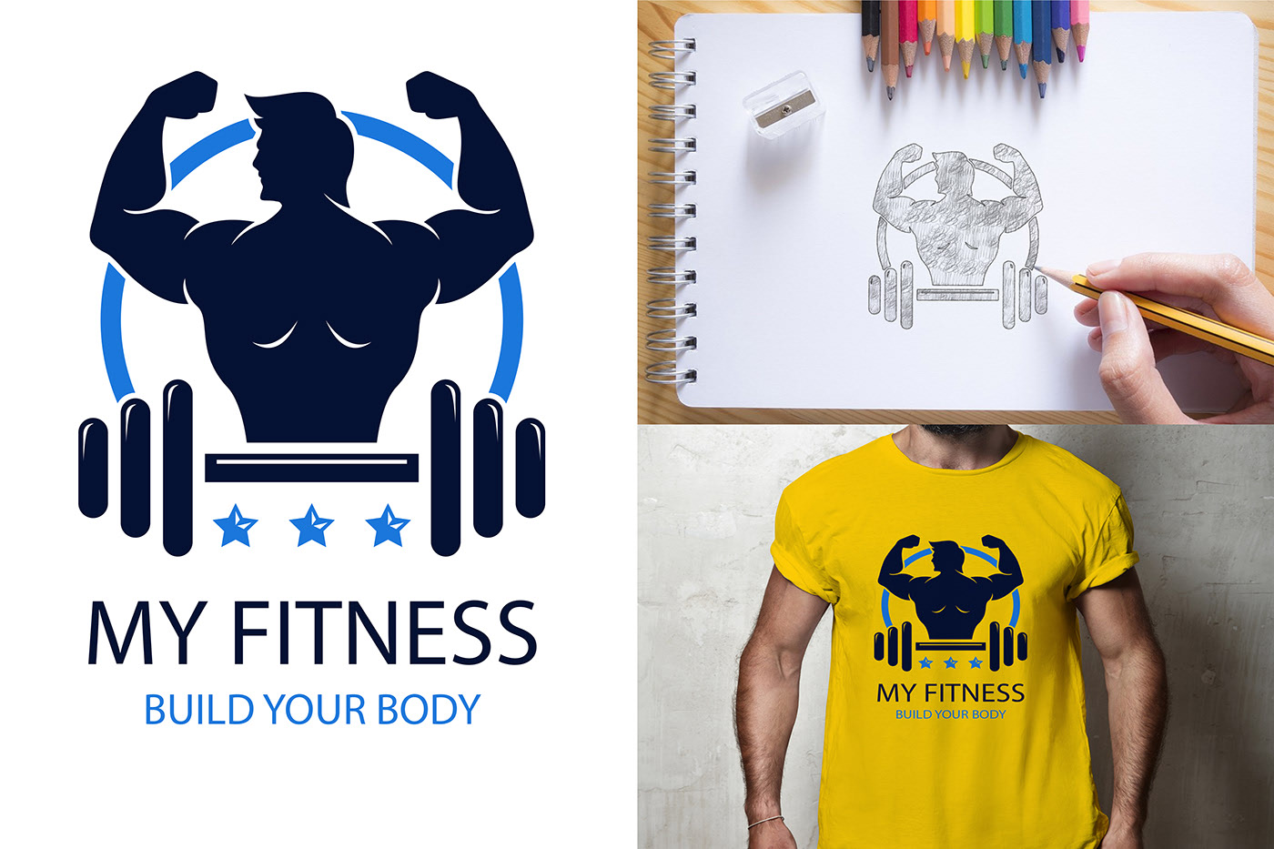 I will make creative and modern logo design for you
