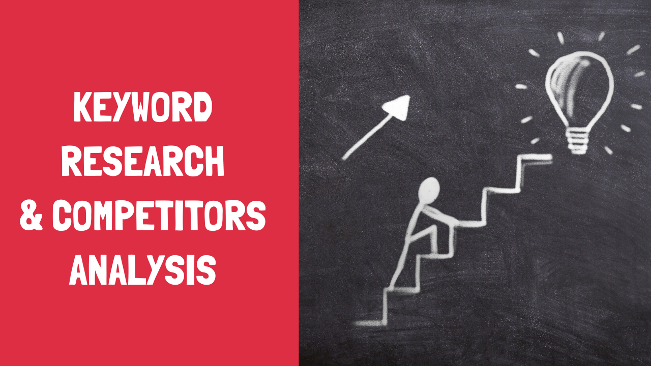 Full SEO keyword research and competitor analysis