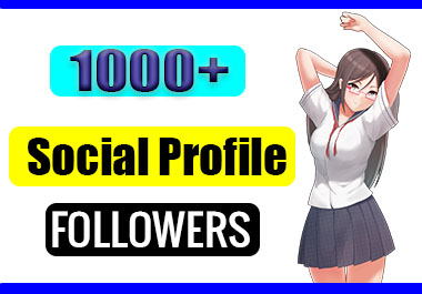 Get Instant 1000+ Non Drop Profile Followers Social Media Marketing Part 5 Max