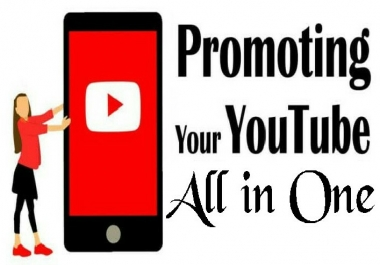 YouTube Package Promotion All In One Service High Quality
