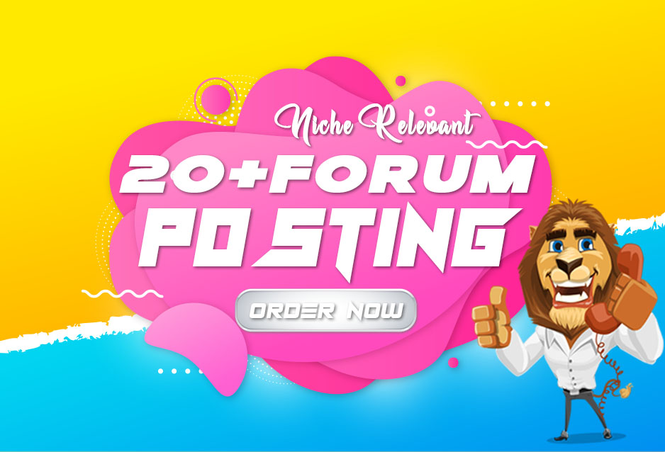 20 Niche Relevant Forum posting for Boost your Targeted Traffic