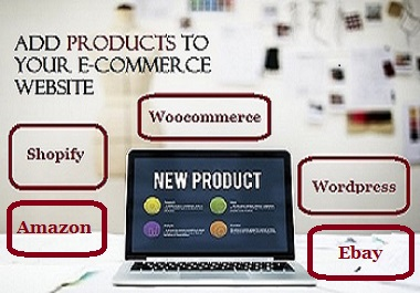 Add 20 Products Descriptions with Images to E-Commerce Store
