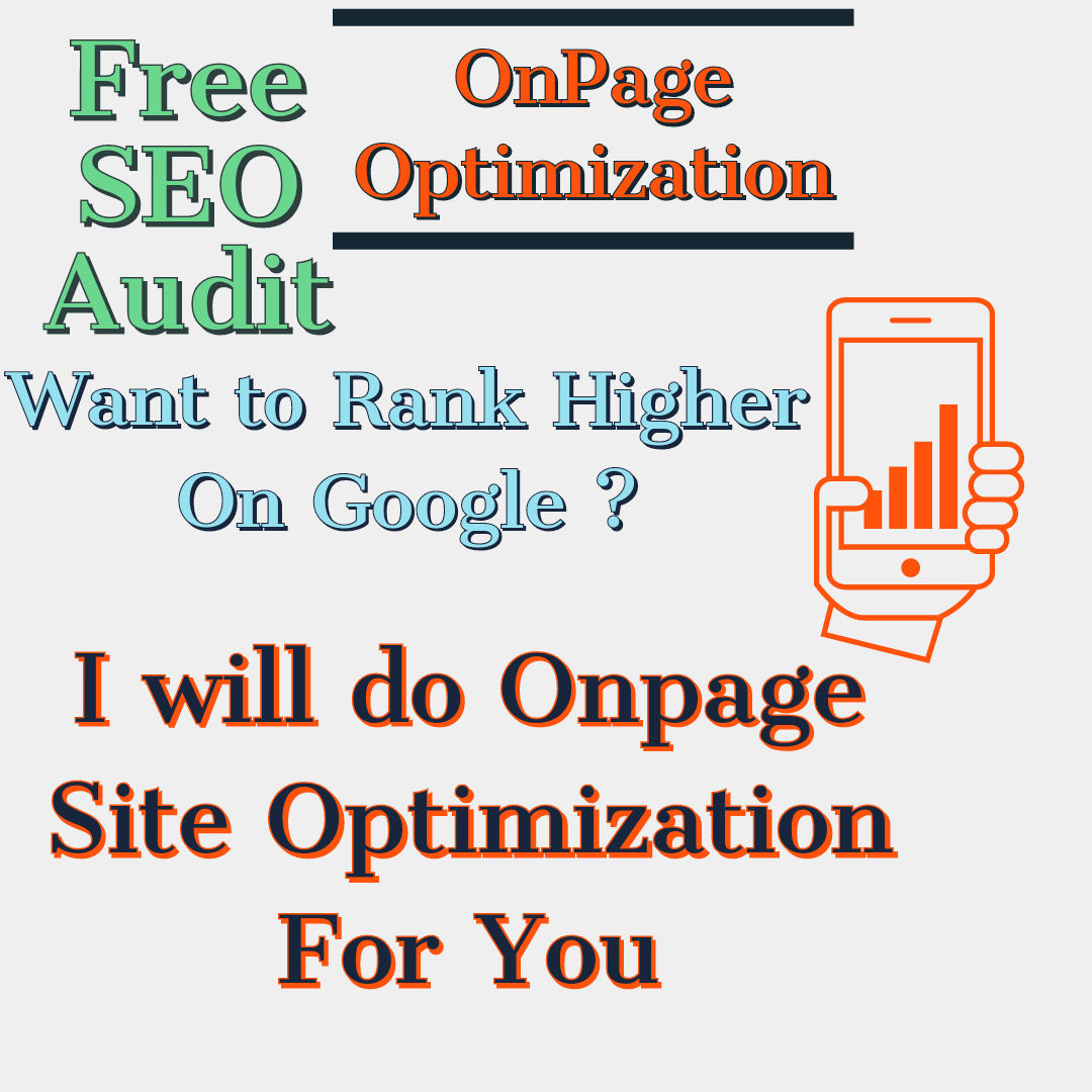Boost Your Website Traffic By Perfect OnPage Seo Boost Your sales Free Seo Audit