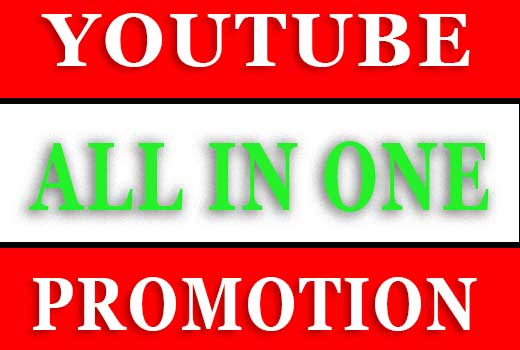 Professionally YouTube promotion service all in one